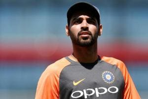 India's Bhuvneshwar Kumar, who missed the third T20 against England at Bristol due to a stiff back, remains in doubt for the first ODI at Trent Bridge.
