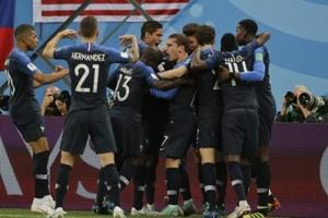 Get highlights of France vs Belgium, FIFA World Cup 2018 semi-final, here. France beat Belgium 1-0 at the Saint Petersburg Stadium on Tuesday to secure their passage into the finals.