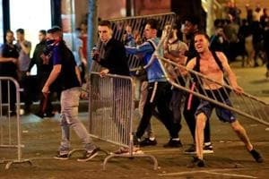 World Cup: French celebrations turn violent as fans clash with police in...