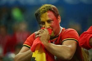 Crying Belgian fans take World Cup semis defeat vs France in stride