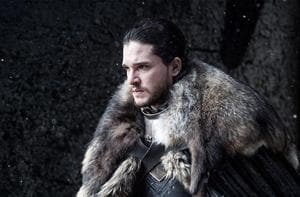 Kit Harrington in a still from Game of Thrones.