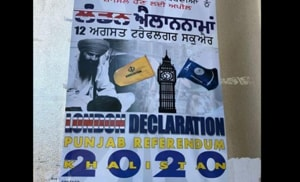 """The poster of event called """"London Declaration""""."""