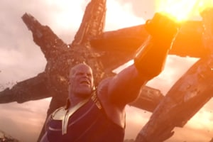 Thanos is played by Josh Brolin in Avngers: Infinity War.
