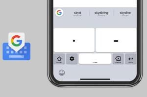 Google announced Morse code support for Gboard earlier this year at I/O 2018.