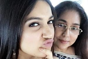 Actor Bhumi Pednekar takes her mother's advise seriously and says that she has loved her daughter's work so far.