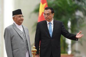 KP Sharma Oli had promised China the rhinos in 2016 during his previous tenure as Nepal's prime minister.