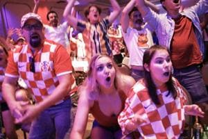 FIFA World Cup 2018: Croatians celebrate maiden entry into final