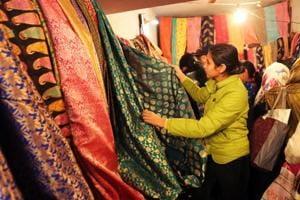 A peek into wedding shopping at Delhi's Inderlok market.