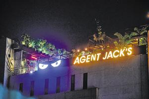 Located on Senapati Bapat Road, Agent Jack's has put up a board in the entrance lobby describing rules and regulations and asking the patrons to follow them.