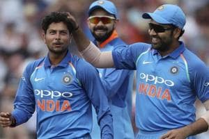 Kuldeep Yadav took six wickets during India's first ODI encounter against England in Nottingham on Thursday.