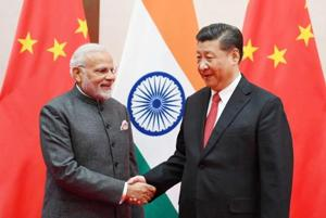 Prime Minister Narendra Modi with Chinese President Xi Jinping during a meeting in June 2018.
