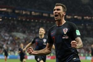 Mario Mandzukic's extra time strike helped Croatia beat England 2-1 in Moscow on Wednesday to reach the FIFA World Cup final for the first time in their history.