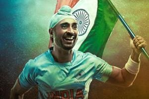 Soorma movie review: Diljit Dosanjh plays hockey player Sandeep Singh with Taapsee Pannu as the leading lady.