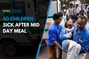 50 students fall ill after consuming mid-day meal at school in Madhya P...