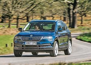 The first impression of the Karoq is that it's bigger in every dimension and more of a scaled-down Kodiaq