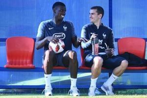 World Cup final: France train in all seriousness for Croatia tie