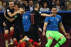 Croatia defeated England in the FIFA World Cup 2018 semi-final encounter in Moscow on Thursday.