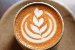 Latte recipe: Broccoli latte is made by adding broccoli powder into a regular cup of coffee, and aims to make people eat more vegetables.