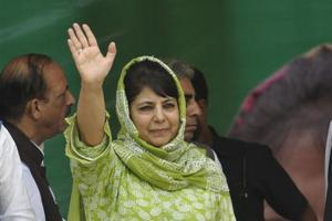 File photo former chief minister and PDP president Mehbooba Mufti.