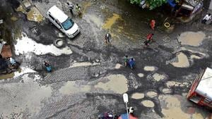 On Thursday, Singhal had assured the elected representatives that the potholes would be filled within 48 hours.