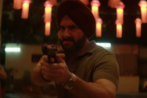 Saif Ali Khan plays Sartaj Singh in Netflix's Sacred Games.