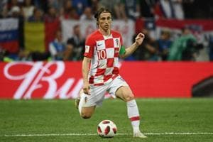 Croatia midfielder Luka Modric won the Golden Ball award of the FIFAWorld Cup 2018 despite losing the final to France onSunday in Moscow.