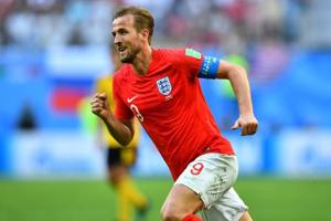 Harry Kane scored six goals at FIFA World Cup 2018.