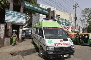 According to the staff at Gurugram's Civil Hospital,  the number of advanced life support (ALS) ambulances in the district  used to transport patients referred to a higher medical facility, is disproportionate to the number of referrals.