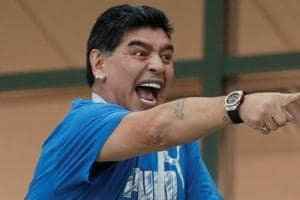 Diego Maradona's antics in the stands during Argentina's FIFA World Cup 2018  grabbed eyeballs.