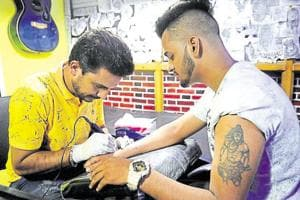 The origin of the word tattoo can be traced to the Tahitian 'tatu', meaning to mark something.