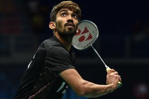 Kidambi Srikanth has been clubbed in the fourth section which also has Malaysian veteran Lee Chong Wei.