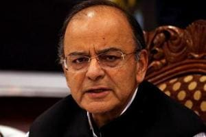 "Union minister Arun Jaitley attacked the Congress party after HD Kumaraswamy said he was ""not happy"" as Karnataka chief minister."