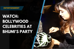 Watch | Varun Dhawan, Vani Kapoor attend Bhumi Pednekar's birthday