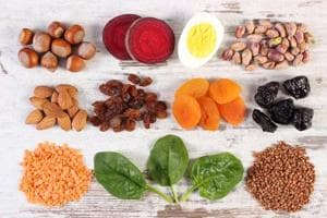 Non heme iron is found in plant-based sources such as grains, beans, vegetables, fruits, nuts and seeds.