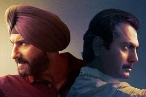 Nawazuddin Siddiqui and Saif Ali Khan star in Netflix's Sacred Games.