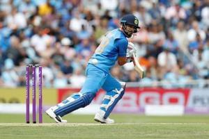 India captain Virat Kohli scored 191 runs in the three-match ODI series against England.