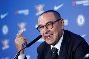 Maurizio Sarri replaced Antonio Conte as Chelsea manager in July.