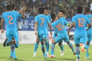 Indian men'ds football team missed the Asian Games cut but there is still a chance.