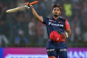 Rishabh Pant was selected for India's upcoming Test series against England.