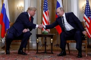 US President Donald Trump and Russia