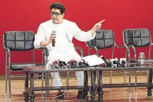 Raj Thackeray, chief, Maharashtra Navnirman Sena said his party would be forced to agitate if students from outside Maharashtra are given priority in admissions.