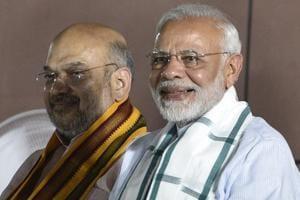 Prime Minister Narendra Modi and BJP president Amit Shah.