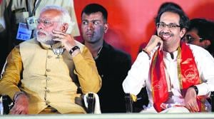 The art of enjoying perks of power and at the same time criticizing the ruling partner is again in focus as the Sena decided not to stand by its ally BJP as a no-trust motion was moved against the Modi government in Lok Sabha.
