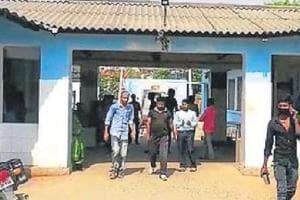 Madhepura district hospital. .
