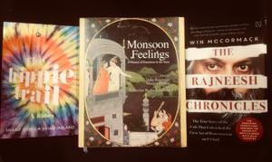 South Asians moved by the rains, the Rajneesh cult running amok in America, and adventures on the hippie trail  - all that on this week's list of exciting books.