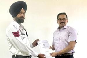 The traffic wing of the Punjab Police announced its initiative to recognise its personnel who show exemplary zeal during the duty to save the lives of citizens.
