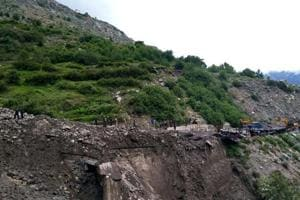 Four people, including two kids, were inside a hut that collapsed due to a landslide triggered by a cloudburst in Chamoli district on Friday.