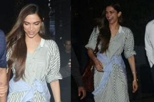 Deepika Padukone always makes for a good subject for photographers. (All photo: Viral Bhayani)