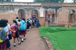 During the heritage walk through, the students were also narrated stories related to the 1857 revolution.