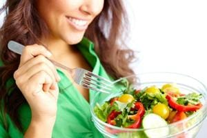 Eat more vegetables to cope with the symptoms of menopause.
